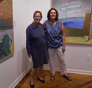 Ellen Sragow and Denise